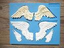 羽 ビッグサイズ 天使 の 羽 シリコンモールド レジン 手作り 石鹸 キャンドル 粘土 レジン シリコン モールド シリコン 型 抜き型 新入荷 エポキシ樹脂 樹脂粘土 ねんど 型 オルゴナイト 型 立体 羽根 エンジェル アロマハイストーン 手作り キット