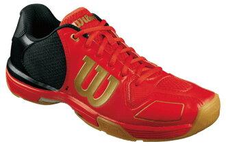 威爾遜wilson羽球鞋鈴紡績品VERTEX RED 05P0Oct16