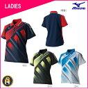 【お買い得商品】ミズノ MIZUNO バドミントン ソフトテニス ゲームシャツ ウェア ユニフォーム WOMEN レディース 62JA8201