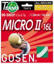 羽毛球 - ts413 ゴーセン ゴーセン ミクロ16L W 05P0Oct16
