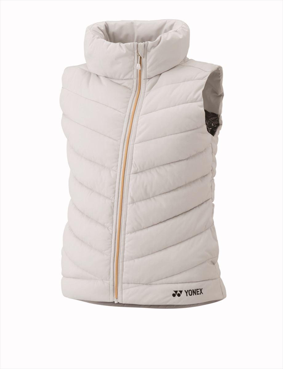 ヨネックス YONEX 98038 テニス・バドミントン ウェア(レディース) ウィメンズ中綿ベスト アイスグレー 16FW 05P0Oct16