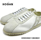 ����̵�� OUTLET HOGAN �ۡ����� �����꾦�� ���ˡ����� ���塼�� �������� ��� ��ǥ����� �ۥ磻�� HXW03900110BI2B001 STRIPE LACE UP ��ŷ ���� ������