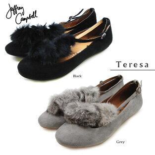 ��JeffreyCampbell�����ե꡼�����٥��Teresa�ƥ쥵��black,grey���ܳץѥ�ץ�������̵���ۡڤ������б���