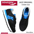 Saucony サッカニー JAZZ ORIGINAL ジャズオリジナル S1044-322 BLACK/BLUE ブラック/ブルー スニーカー スポーツシューズ レディース WOMEN レトロランニング 楽天 通販 あす楽対応