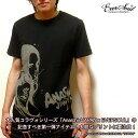 コラボタトゥガールプリント半袖メンズTシャツ 「AnarchistJAPAN x EVERSOUL SST (Tattoo)」 セクシーガールプリントコラボ半袖メンズTシャツ!【日本製 MADE IN JAPAN】