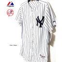 ニューヨーク ヤンキース ユニフォーム ジャージー 田中将大 メジャーリーグ Majestic Japan マジェスティック NEW YORK YANKEES オーセンティック ホーム ジャージー 野球