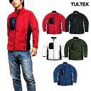 ショッピング防寒 TULTEX フリースジャケット メンズ フリース ジップアップ ジャケット 軽量 秋 冬 3L アウトドア 防寒 暖かい ウォーキング