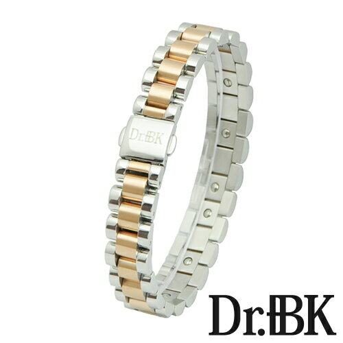 Dr.+BK ゲルマニウム ブレスレット BS00Xシリーズ ピンクゴールド [Bracelet]