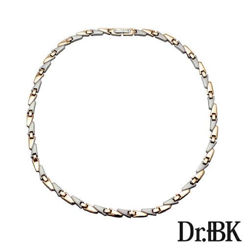 Dr.+BK ゲルマニウムネックレス NS001シリーズ(ピンクゴールド)