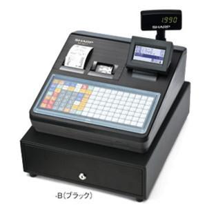 シャープ SHARP 電子レジスター フラットキーボードタイプ(ブラック) XE-A417-B