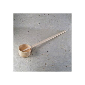 Bend a hinoki [celebration / cutting of the New Year's rice cake use]; ring / ladle (a ladle)