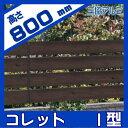 アルミフェンス 三協アルミ 【コレット1型 フェンス本体 H800】 ガーデン DIY 塀 壁 FCR-1-2008