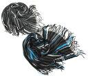 ラッセルマフラー◆7色ストライプミックス【あす楽対応】【楽ギフ_包装】【マフラー メンズ】【マフラー レディース】【マフラー 紳士】【ロングマフラー】誕生日