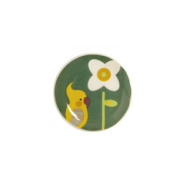 KOTORITACHI箸皿・薬味皿並ぶオカメ小鳥グッズ小鳥雑貨食器カトラリー小皿コトリタチ