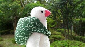 【ふろしき文鳥】ぬいぐるみ 【シープロップ】 ◆小