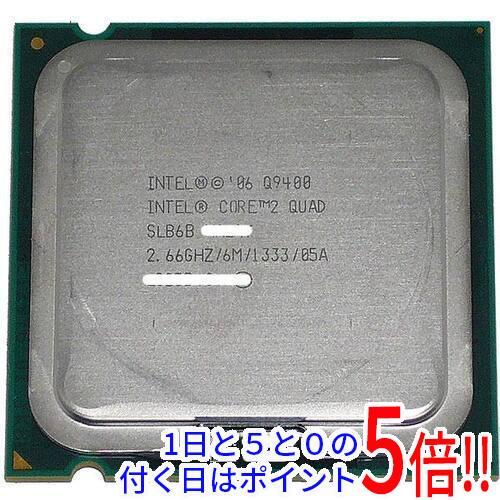 【中古】Core 2 Quad Q9400 2.66GHz FSB1333MHz LGA775 45nm SLB6B