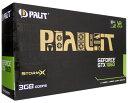 【中古】PALIT GeForce GTX1060 3GB STORMX NE51060015F9-1061F