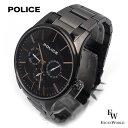 ポリス POLICE 時計 腕時計 14701JSU/13M クロノグラフ ウォッチ 5気圧防水 カレンダー表示 2年保証 メーカー正規品 エクセルワールド ブランド ブレゼント TP