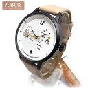 スヌーピー PEANUTS 時計 レディース 腕時計 ベージュ アナログウォッチ カレンダー付き スヌーピーの腕時計 PNT016-1 子供から大人まで対応 エクセルワールド プレゼントに かわいい時計