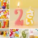 バースデーには ナンバーキャンドル & アルファベット キャンドル 誕生日のケーキにプラスして特別感アップ♪メール便配送可