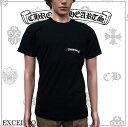 CHROME HEARTS クロムハーツ 半袖 Tシャツ CREW MED BLK C14-2C WHT & BLK ブラック
