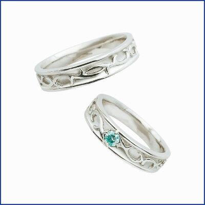 スウィートブルーダイヤモンド SWEET BLUE DIAMOND マリッジリング (結婚指輪) 1231464-1231465 マリッジリング ベストセレクション 10月5日までブライダルフェアー ポイント20倍♪