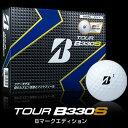 BRIDGESTONE(ブリヂストン) TOUR B330S Bマークエディション 2016 ゴルフ ボール (12球)