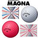 Callaway(キャロウェイ) SUPER SOFT MAGNA ゴルフ ボール (12球)
