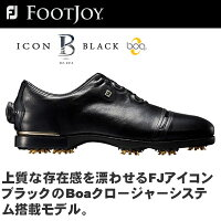 FOOTJOY(フットジョイ) FJ ICON BLACK Boa ゴルフ シューズ 52024の画像