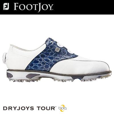 FOOTJOY(フットジョイ) DryJoys Tour Boa メンズ ゴルフ シューズ 53795 (W)
