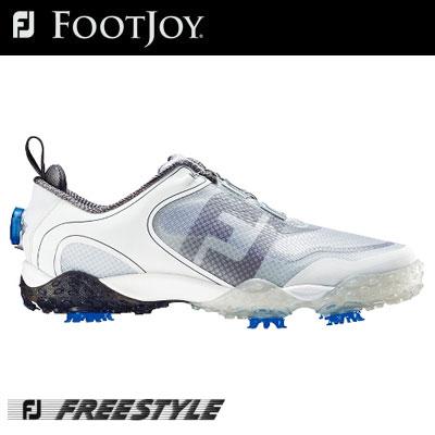 FOOTJOY(フットジョイ) FREESTYLE Boa メンズ ゴルフ シューズ 57337  (W) 日本正規FOOTJOY 動きやすさとグリップ力を両立させたフリースタイル