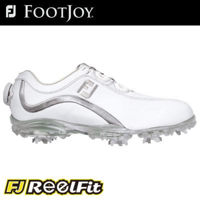 FOOTJOY(フットジョイ) FJ リールフィット レディース ゴルフ シューズ 93809 W Boaクロージャーシステムを搭載のウィメンズツアーモデルよい