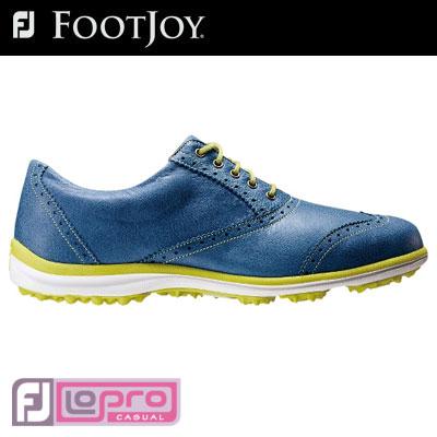 FOOTJOY(フットジョイ) LO PRO カジュアル スパイクレス レディース ゴルフ シューズ 97291 ソフトなフィット感のロープロ カジュアル スパイクレス