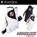 FOOTJOY(フットジョイ) NANOLOCK TECH メンズ ゴルフ グローブ (左手用) FGNTC16