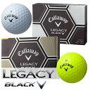 Callaway(キャロウェイ) LEGACY BLACK -レガシー ブラック- ゴルフボール (12球)