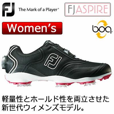 【ゲリラセール開催中】FOOTJOY(フットジョイ) ASPIRE Boa レディース ゴルフシューズ 98905 (ブラック) W
