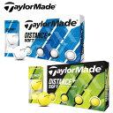 【あす楽可能】TaylorMade(テーラーメイド) DISTANCE+ SOFT ゴルフボール (12球) [ディスタンスプラス ソフト]