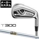 【メーカーカスタム】Titlest(タイトリスト) T300 2021 単品アイアン (#4、#5、W) Dynamic Gold スチールシャフト [日本正規品]