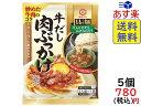 キッコーマン 具麺 牛だし肉ぶっかけ 120g(2人前)×5...