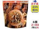 MDホールディングス 大豆習慣 納豆 (だし醤油味) × 椎茸 30g×6袋 賞味期限2020/11/19