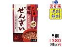 井村屋 濃厚ぜんざい 180g×5個 賞味期限2022/02/01
