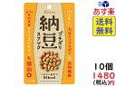 カンロ プチポリ納豆スナック醤油味 20g×10個 賞味期限...