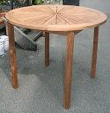 ハイテーブル(36338)(ジャービス商事)ガーデンファニチャー ガーデン家具 ガーデンテーブル 机 チーク 木製