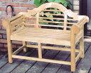 ミニ貴族ベンチ(36321)(ジャービス商事)ガーデンファニチャー ガーデン家具 ガーデンベンチ ガーデンチェア 椅子 イス チーク 木製
