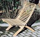 ハンディチェア(36316)(ジャービス商事)ガーデンファニチャー ガーデン家具 ガーデンチェア 椅子 イス チーク 木製