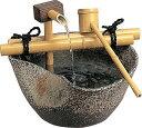 陶器つくばい せせらぎ13号 TSU-13(20402100)(タカショー)送料無料 和風ガーデングッズ ウォーターガーデン 室内用 庭 園芸 ファウンテン