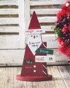 RoomClip商品情報 - 【クリスマス】【Christmas】ウッドトリアングルサンタS