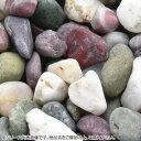 マツモト産業 ヤマト和風本玉石 天然五色石 大(16~20mm)内外 20kg