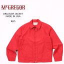 McGREGOR (マックレガー) DRIZZLER JACKET MADE IN USA - RED ブルゾン メンズ