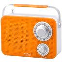 RAD-T380N-D キッチン・シャワーラジオ オレンジ ...